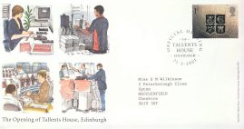 2001-03-21 Official Opening Tallents House 99p cover refcd469 In good condition. Sealed - no insert card. Please see larger photo and full description for details.