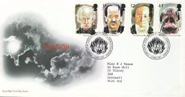 1997-05-13 Tales of Terror Stamps FDC 99p cover refcd472 In good condition. With insert card. Please see larger photo and full description for details.