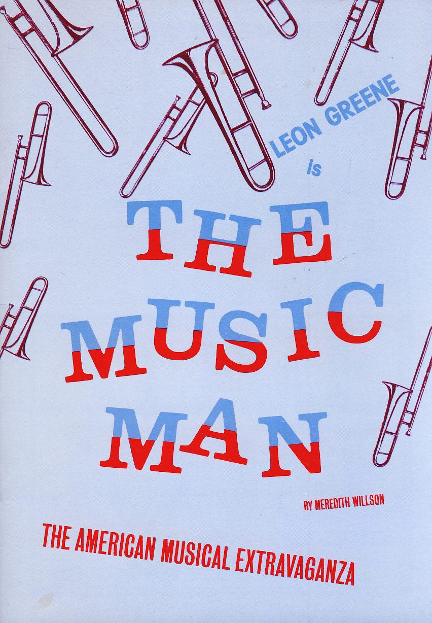 Leon Greene is The Music Man 1984 Plymouth Theatre Royal Programme refb1315 Measures approx 15cm x 21cm. Cover has some marks. Please see photo.
