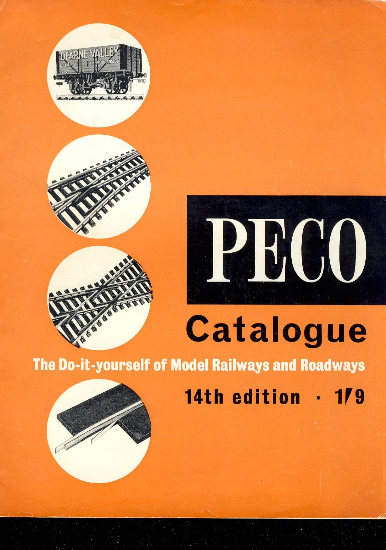 1965 32 page vintage catalogue in good clean condtion. Light handling marks on cover. ref098