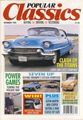 Vintage car magazine in good read condition. Please see photo and read full description.