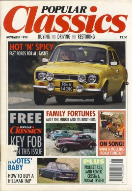 Vintage car magazine in good read condition. Please see photo and read full description. Ref001