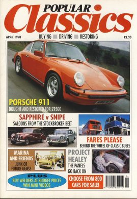 Vintage car magazine in good read condition. Please see photo and read full description. Ref007