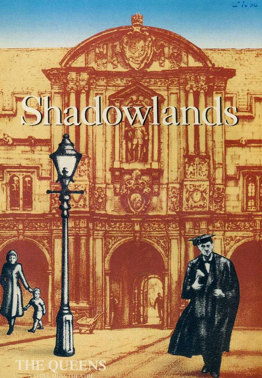NIGEL HAWTHORNE & JANE LAPOTAIRE Shadowlands 1990 The Queen's Theatre Programme refb100907 Good Condition with date written on cover. Measure approx 14.5cm x 21cm