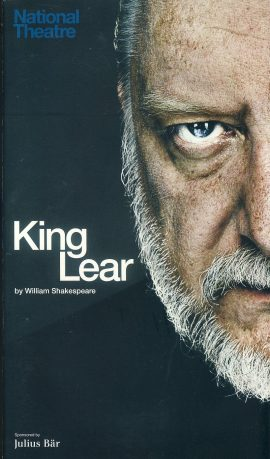 KING LEAR 2014 Olivier National Theatre Programme refb100924 Used Programme in Very Good Condition. Measure approx 13.5cm x 24cm Date written in cover.