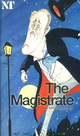 The Magistrate by Arthur Wing Pinero Theatre Programme undated refb100935 Used Programme in Good Condition. Measure approx 13.5cm x 24cm