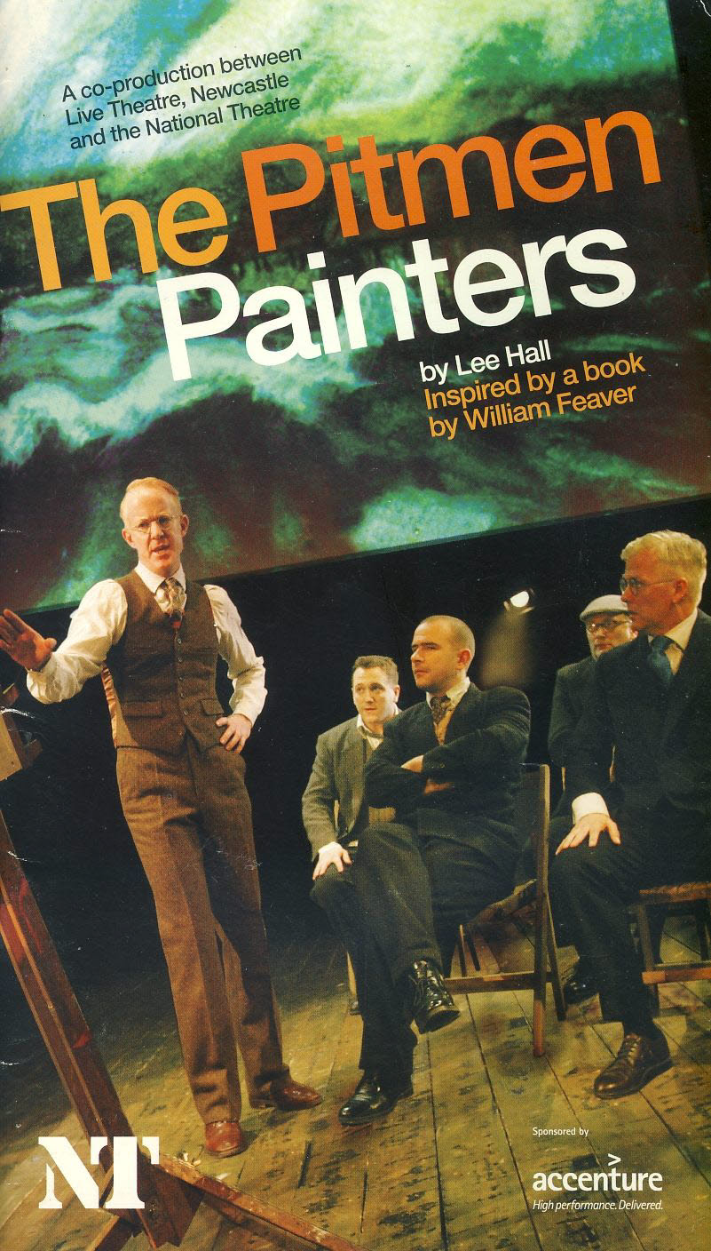 The Pitmen Painters by Lee Hall 2009 NT Theatre Programme refb101032 Pre-owned Programme in Good Condition. Measures approx 14cm x 24cm Date written in cover.