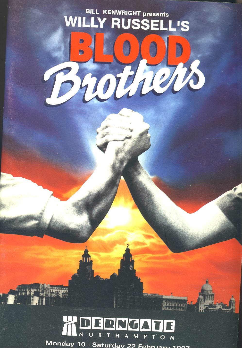 BLOOD BROTHERS 1997 DERNGATE Northampton theatre Programme Stephanie Lawrence & Mike Dyer refb100841 Very Good Condition. Measure approx 17.5cm x 25cm