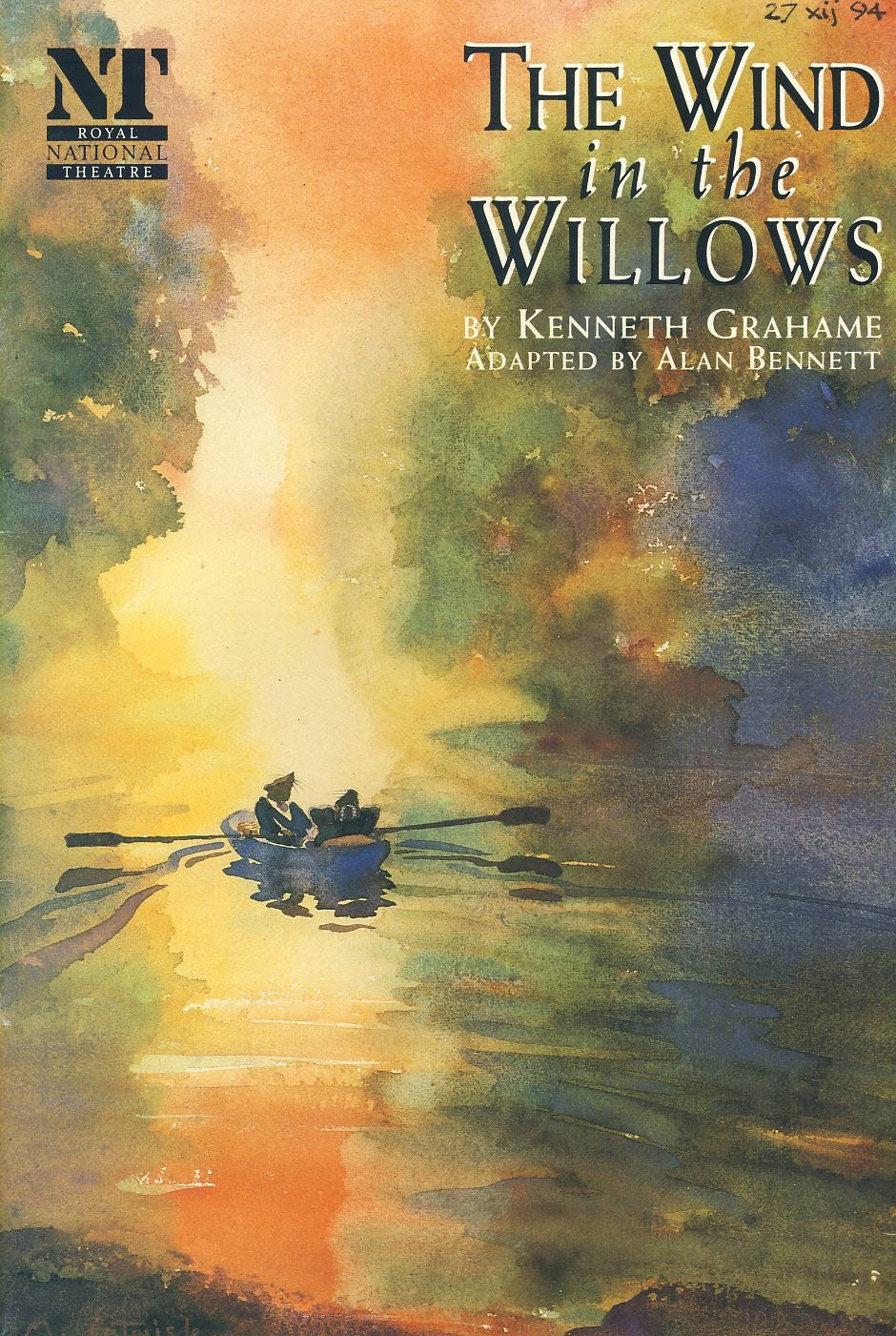 The Wind in the Willows 1994 Olivier Theatre Royal National Programme refb100867 Very Good Condition. Measure approx 17.5cm x 25cm Date written on cover.