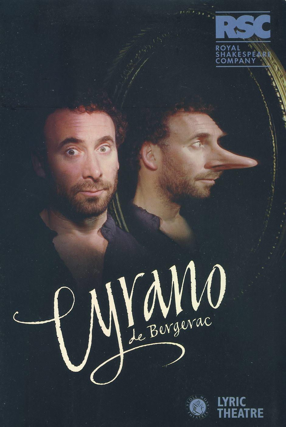 Cyrano de Bergerac 1997 Lyric Theatre Programme refb100880 Good Condition. Measure approx 17.5cm x 25cm
