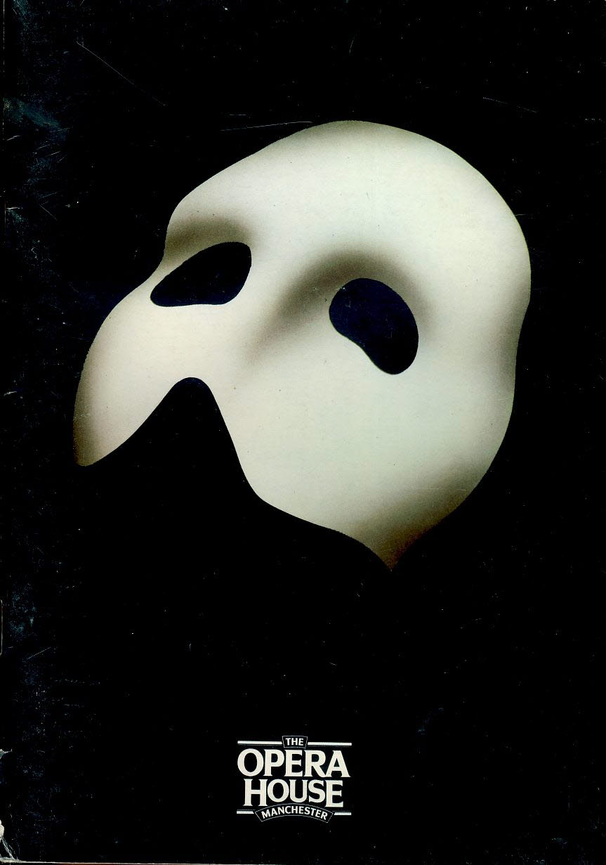 Phantom Opera House Manchester Theatre Programme Dave Willetts refb100886 Good Condition. Measure approx 14cm x 21cm
