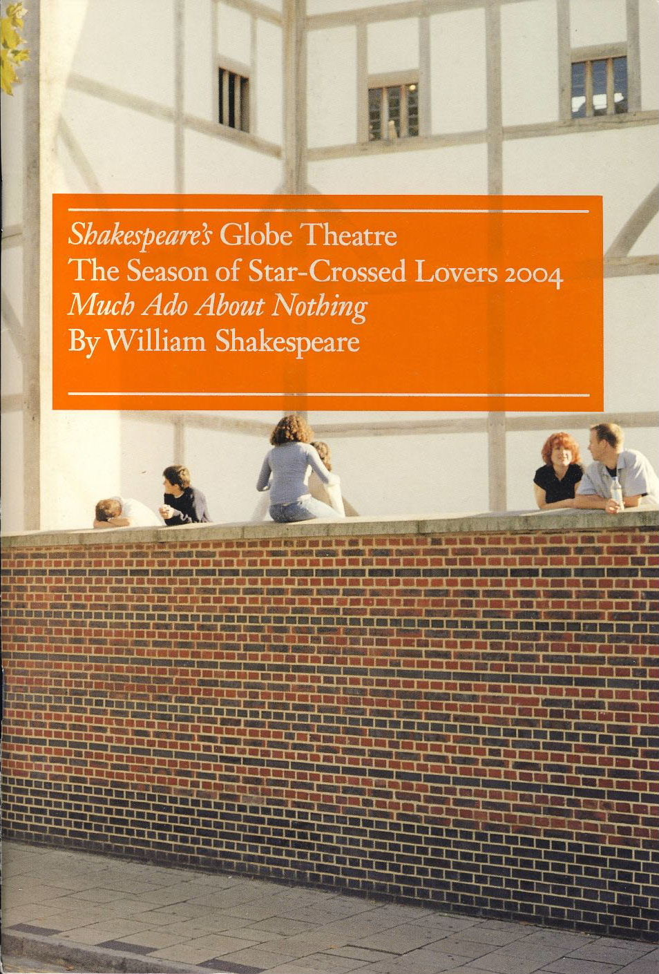 Theatre Programme is in Very Good Used Condition.  Please see photo and read full description. Measures approx 16cm x 24cm.