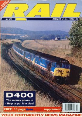 RAIL Railway vintage magazine in good read condition. Some scuffs to the cover.Name written on cover. No posters freebies or extras included.  r1530