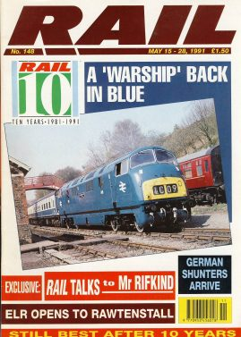 RAIL Railway vintage magazine in good read condition. Some scuffs to the cover.Name written on cover r1527