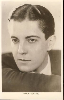 Ramon Novarro Photo Vintage Postcard blank backed. An original postcard in good condition for its age. Please see large photo and description for details. Ref190