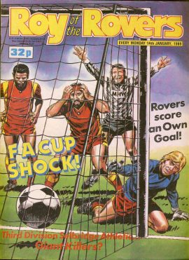 Roy of the Rovers 14th January 1989 Peter Beardsley story part one (2 pages) ref002 Please see full description and photo for more details.