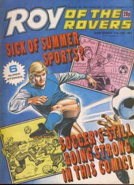 Roy of the Rovers comic in good used condition. Please see full description and photo for more details.