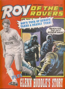 Roy of the Rovers comic 4th July 1987 Glenn Hoddle pt3 ref063 in good used condition. Please see full description and photo for more details.