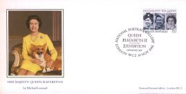 A numbered 1986 LIMITED EDITION (no.4718) Commemorative Cover for National Portrait Gallery Opening. Painting of Her Majesty Queen Elizabeth II on numbered cover by CoverCraft. Sealed.