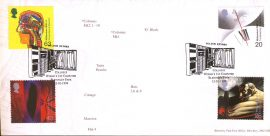 1999 Bletchley Park PO LTD EDITION cover Enigma Collosus Worlds 1st Computer Milton Keynes shs ref128albumB10