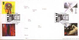 1999 Bletchley Park PO LTD EDITION cover Enigma Collosus Worlds 1st Computer Milton Keynes shs ref131albumB10