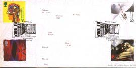 1999 Bletchley Park PO LTD EDITION cover Enigma Collosus Worlds 1st Computer Milton Keynes shs ref132albumB10