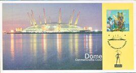 2000 Dome Commemorative Cover Greenwich London. New Millennium Experience Company. refA460