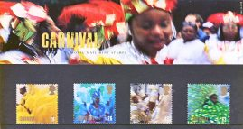 CARNIVAL 1998 Presentation Pack Set of Royal Mail Mint Stamps issued 25th August 1998 refA466