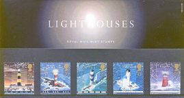 LIGHTHOUSES 1998 Presentation Pack Set of Royal Mail Mint Stamps issued 24th March 1998 refA468