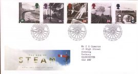 Railways The Age of Steam Royal Mail First Day Cover Bureau fdi 18 January 1994 and insert card. refA497
