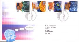 Medical Discoveries First Day Cover Bureau fdi 27 Sept 1994 with insert card. refA503