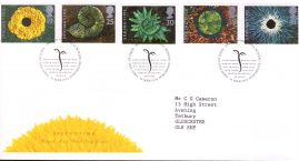 Springtime The Four Seasons Royal Mail First Day Cover with fdi 14 March 1995 and insert card. refA506