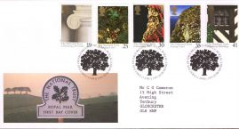 National Trust Centenary Royal Mail First Day Cover with fdi 11 April 1995 and insert card. refA507