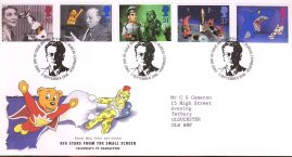 Childrens TV Characters SuperTed Royal Mail First Day Cover Bureau fdi 3 September 1996 refA521