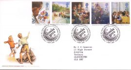 Enid Blytons Books First Day Cover with Noddy