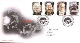 Tales of Terror Royal Mail First Day Cover Bureau fdi 13 May 1997 with insert card.  refA546