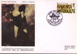 1970 National Army Museum Group II No.1 American War of Independence refB8
