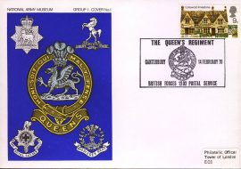 1970 National Army Museum Group 1 No.1 Queen's Regiment Canterbuy refB9