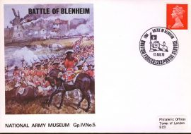1970 National Army Museum Group 4 No.4 Battle of Blenheim refB10