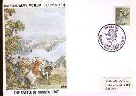 1971-08-01 National Army Museum Group 4 No.9 Battle of Minden 1747 refB11