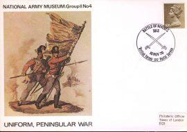 1970-11-10 National Army Museum Group 2 no4 UNIFORM Peninsular War refB19