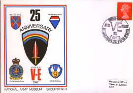 1971-05-08 National Army Museum Group 4 No.3 25th Anniversary of VE DAY refB24