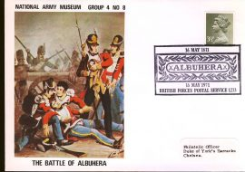 1971-05-16 National Army Museum Group 4 no.8 the Battle of Albuhera refB27
