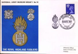 1971-09-23 National Army Museum Group 1 No.10 Royal Highland Fusiliers refB35