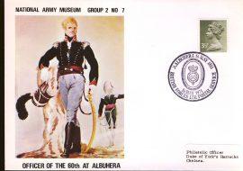 1971 Officer of the 60th Albuhera BFPO Army Museum Cover - Duke of York's Barracks Chelsea refB39