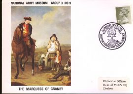 1971 The Marquess of Granby British Forces Postal Service BFPO 1241 handstamp Exhibition Chelsea. National Army Museum cover. Addressed to Duke of York's HQ Chelsea. refB55