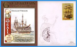 2008 Our Islands History Limited Edition cover The Age of Sail DUGUAY-TROUIN Horatio Nelson Battle of Trafalgar GRENADA refb13