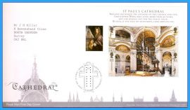 2008-05-13 Cathedral Stamps minisheet First Day Cover refc73