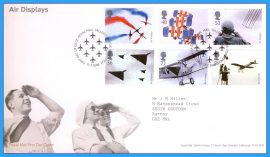2008-07-17 Air Displays Stamps First Day Cover refc76