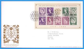 2008-09-29 Country Definitives Mini Sheet Stamps First Day Cover refc79